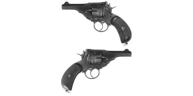 Pistol - Webley Mk.V Both Sides